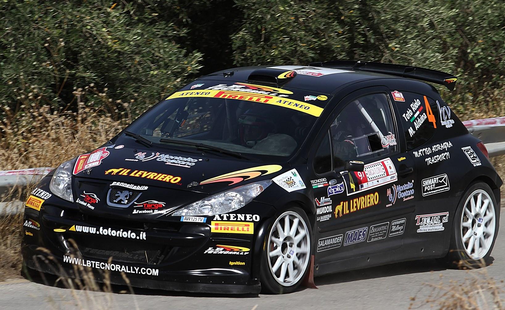 Salvatore Riolo, Massimiliano Alduina (Peugeot 207 S2000 S2000 #4, Ateneo)