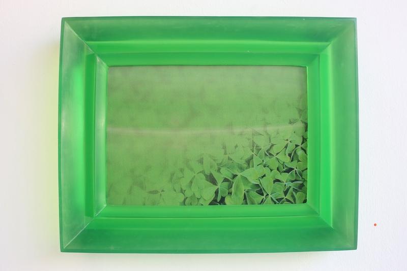Chiara Dynys, Poisoned Flowers, 2014; Plexiglas, lenticolare, 65 x 85 x 10 cm; galleria Hollenbach, Stuttgart