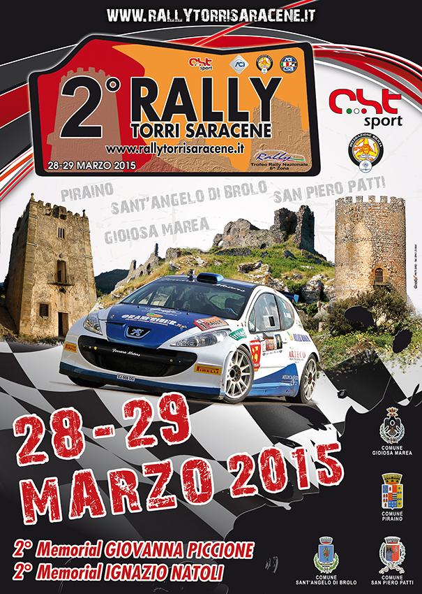 Locandina 2° rally Torri saracene torri