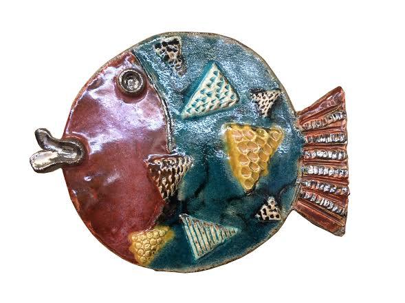 Pesce tondo di  Luciano Foli