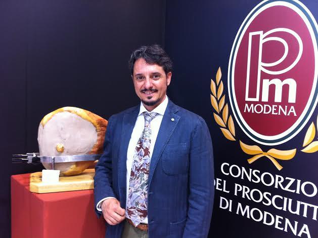 Davide Nini Presidente Consorzio Prosciutto di Modena