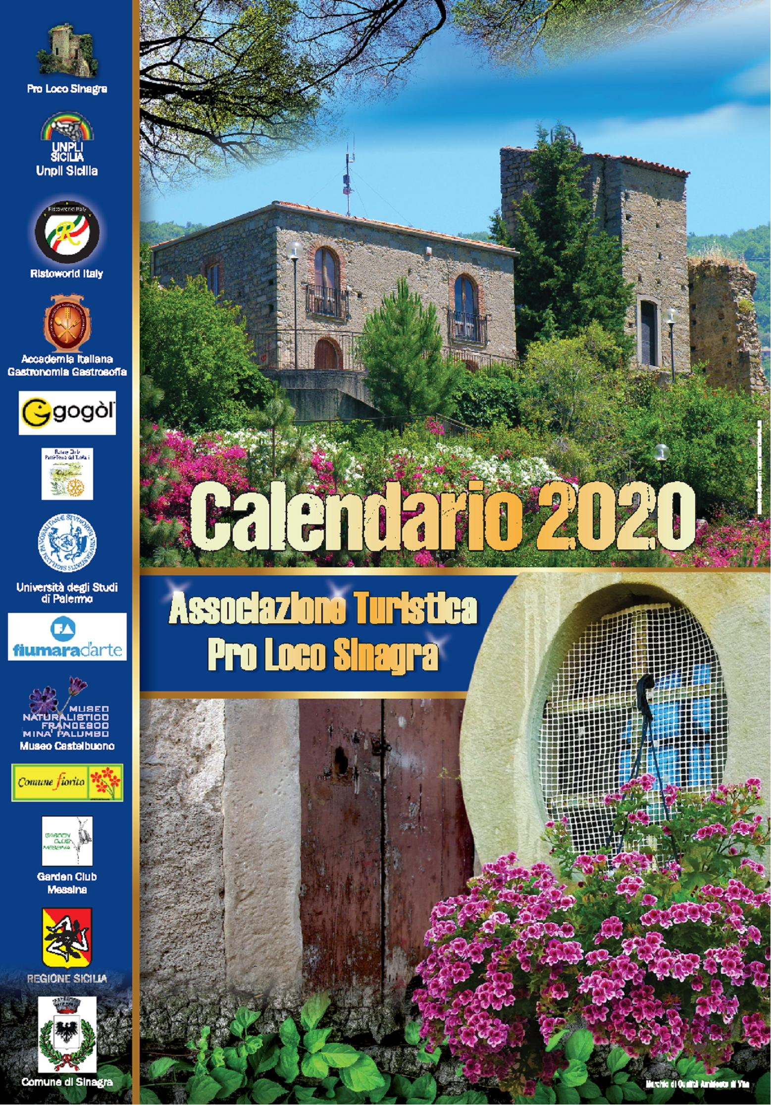 Copertina Calendario Sinagra 2020